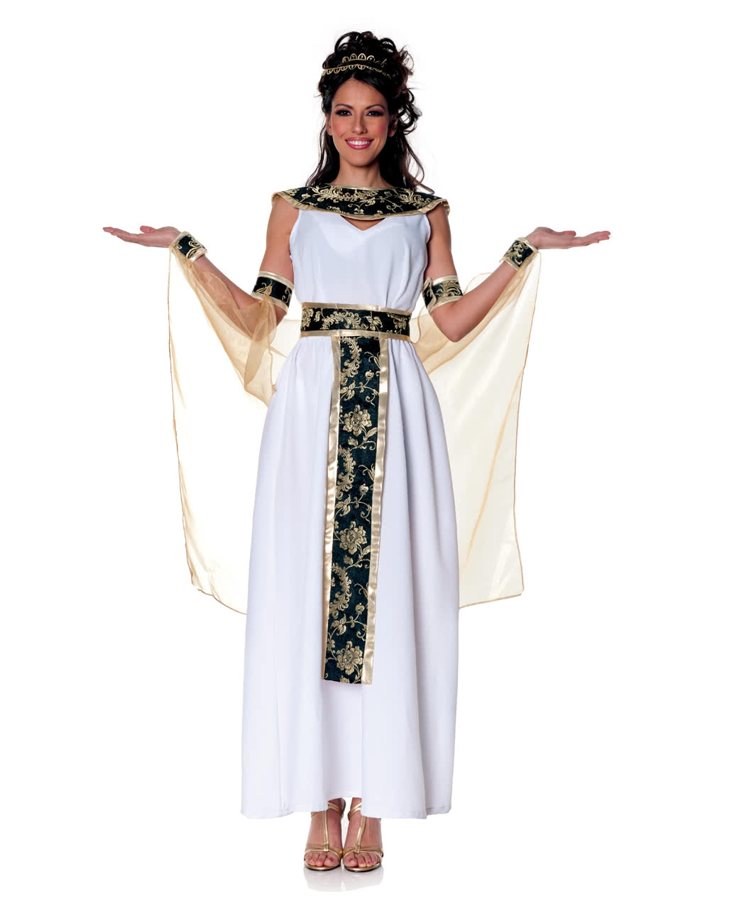 Egyptian Queen Pharaoh Faschingskostum Horror Shop Com
