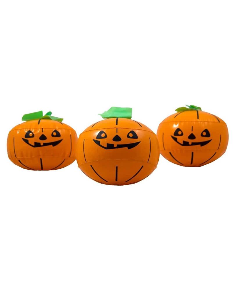 Aufblasbarer Halloween Kurbis 3er Set Halloween Deko Horror Shop Com