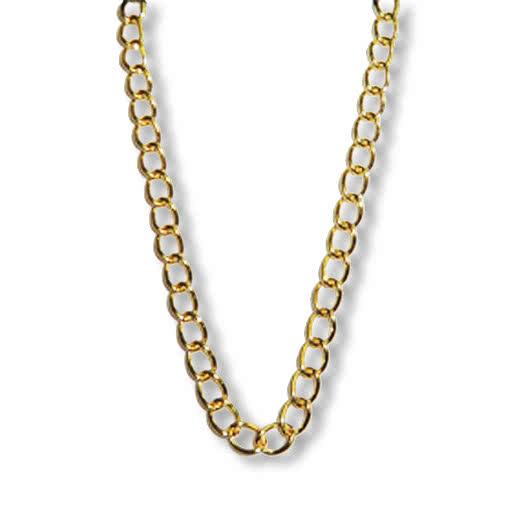 Modeschmuck gold kette  Aufreisser Goldkette -Gold Ketten-Halsschmuck-Modeschmuck Gold ...