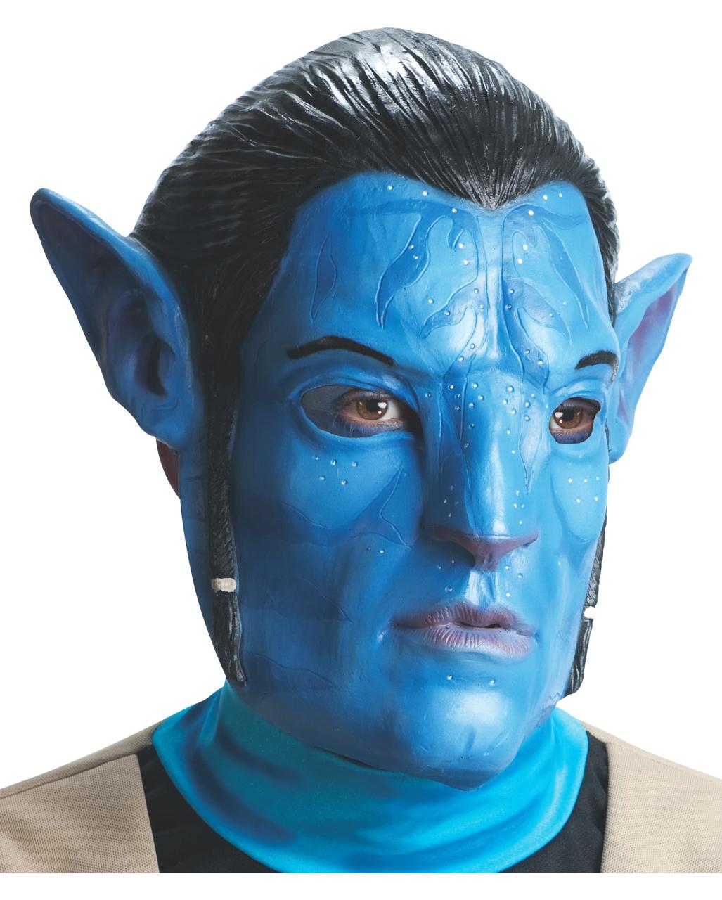 Avatar Jake Sully Maske James Camrons Avatar Masken Horror Shop Com