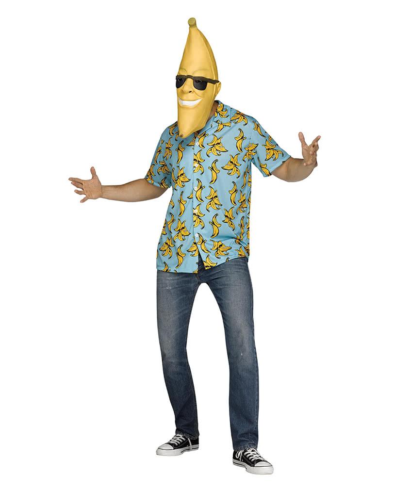 Goin Bananas Kostum Mit Maske Als Karnevalskostum Horror Shop Com