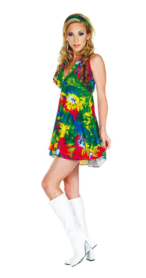 Batik Kostüm Kleid Hippie Minikleid Hippiekleid c345jLARqS