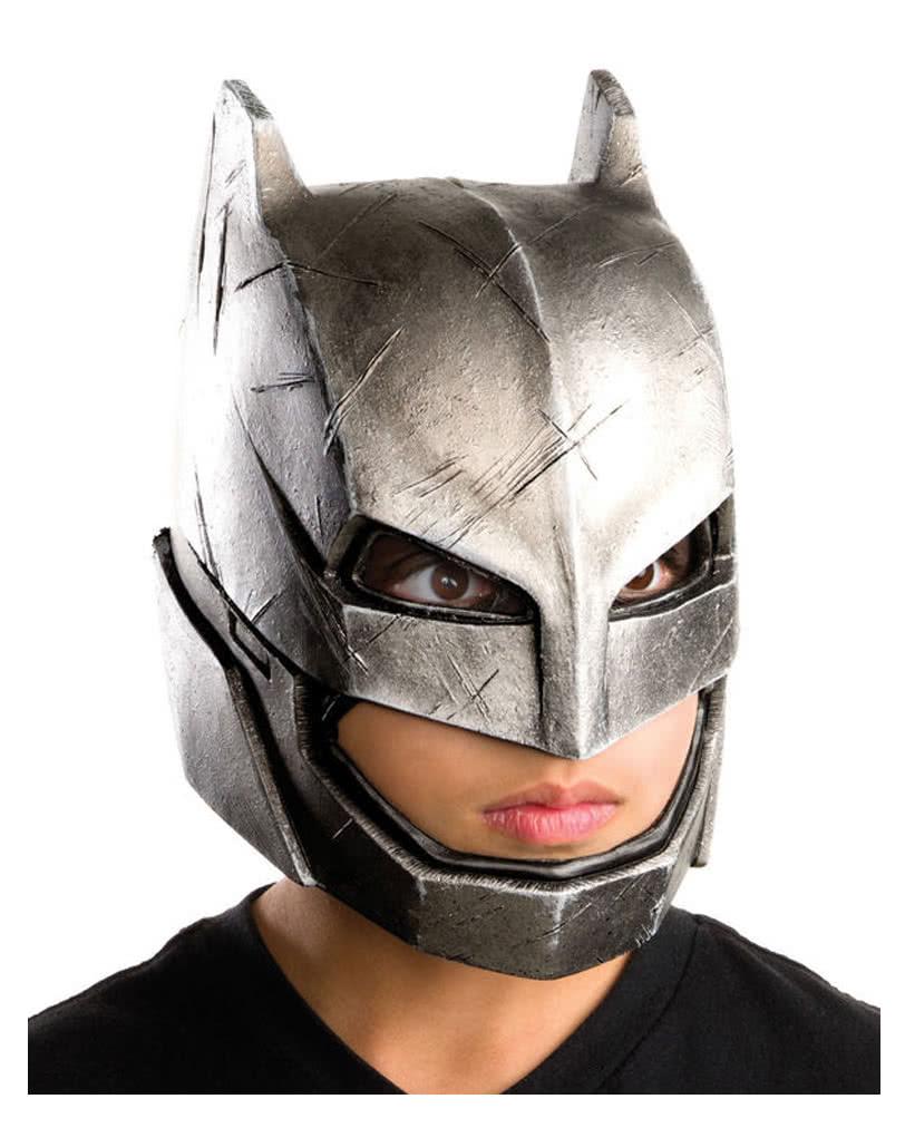 Dawn Of Justice Batman Panzer Vinyl-Maske | DC Comics Superhelden ...