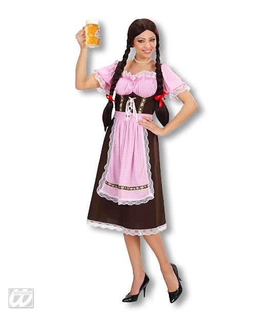 4a3d037f9d6ba0 Bayrisches Dirndl XL Kostüm | Dirndl Kostüm für Damen | Horror-Shop.com