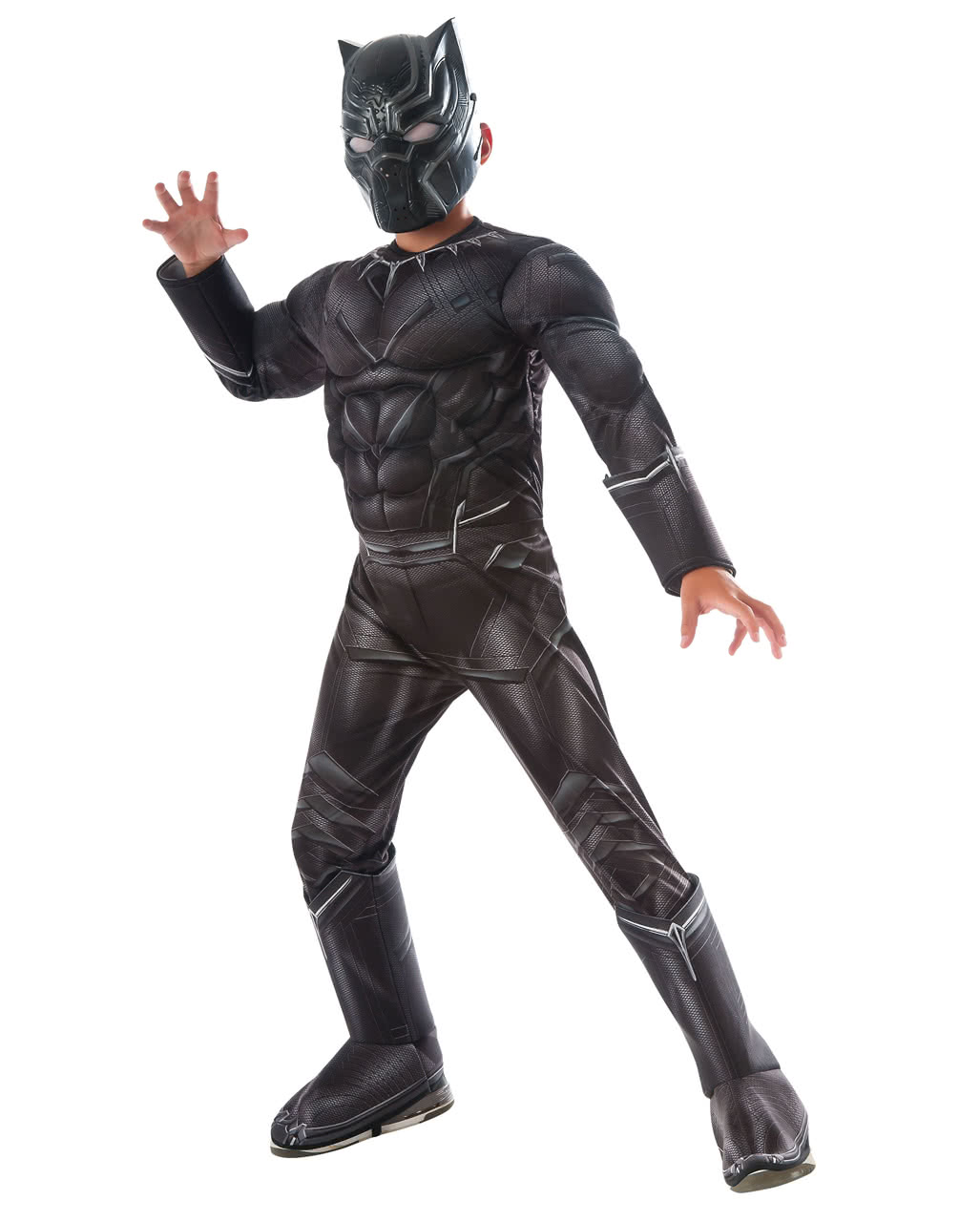 0b79424ff Black Panther Muscle Kids Costume to order | horror-shop.com