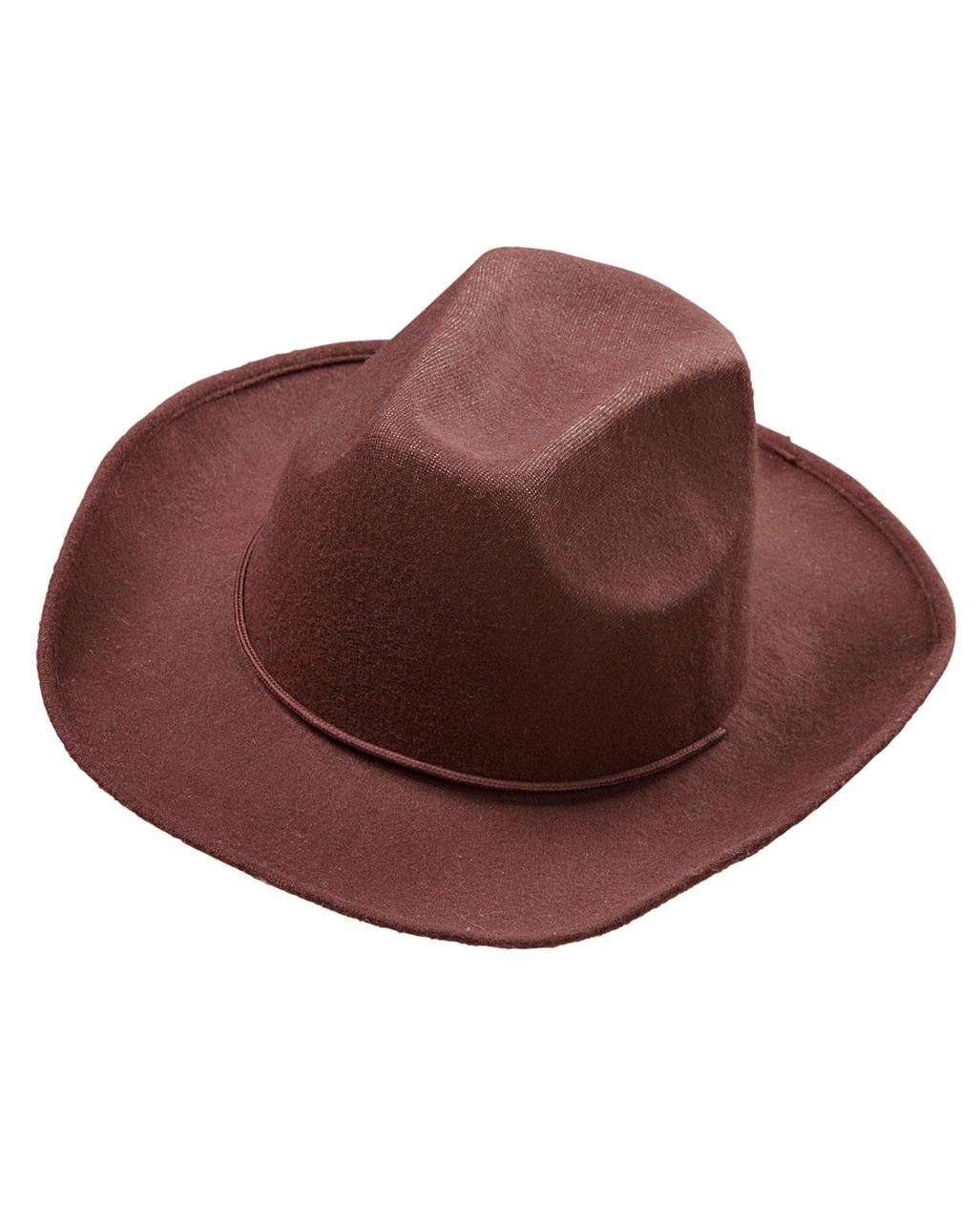 488c7cbb1ed Cowboy Felt Hat Brown