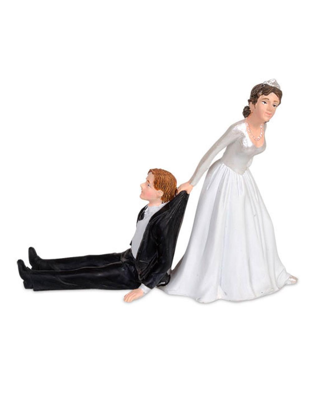 Lustiges Brautpaar Fur Hochzeitstorte Kaufen Horror Shop Com