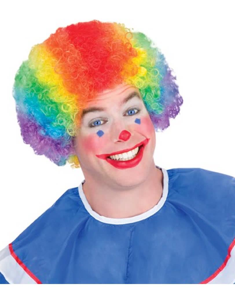 Rainbow clown wig  f5fe5f1f3