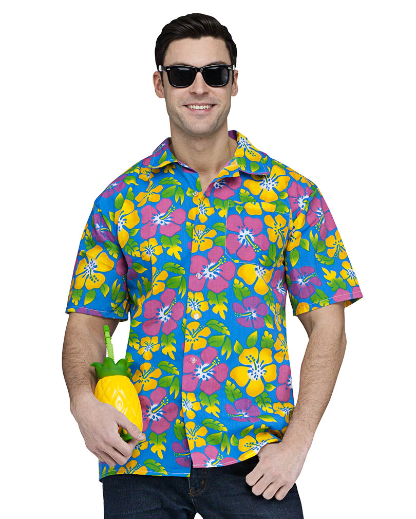 9ebe9c6e Colorful Hawaiian shirt & For the beach beach party | horror-shop.com