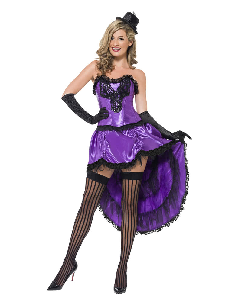 Burlesque can can costume violet showgirl costume showgirl burlesque can can costume violet solutioingenieria Gallery