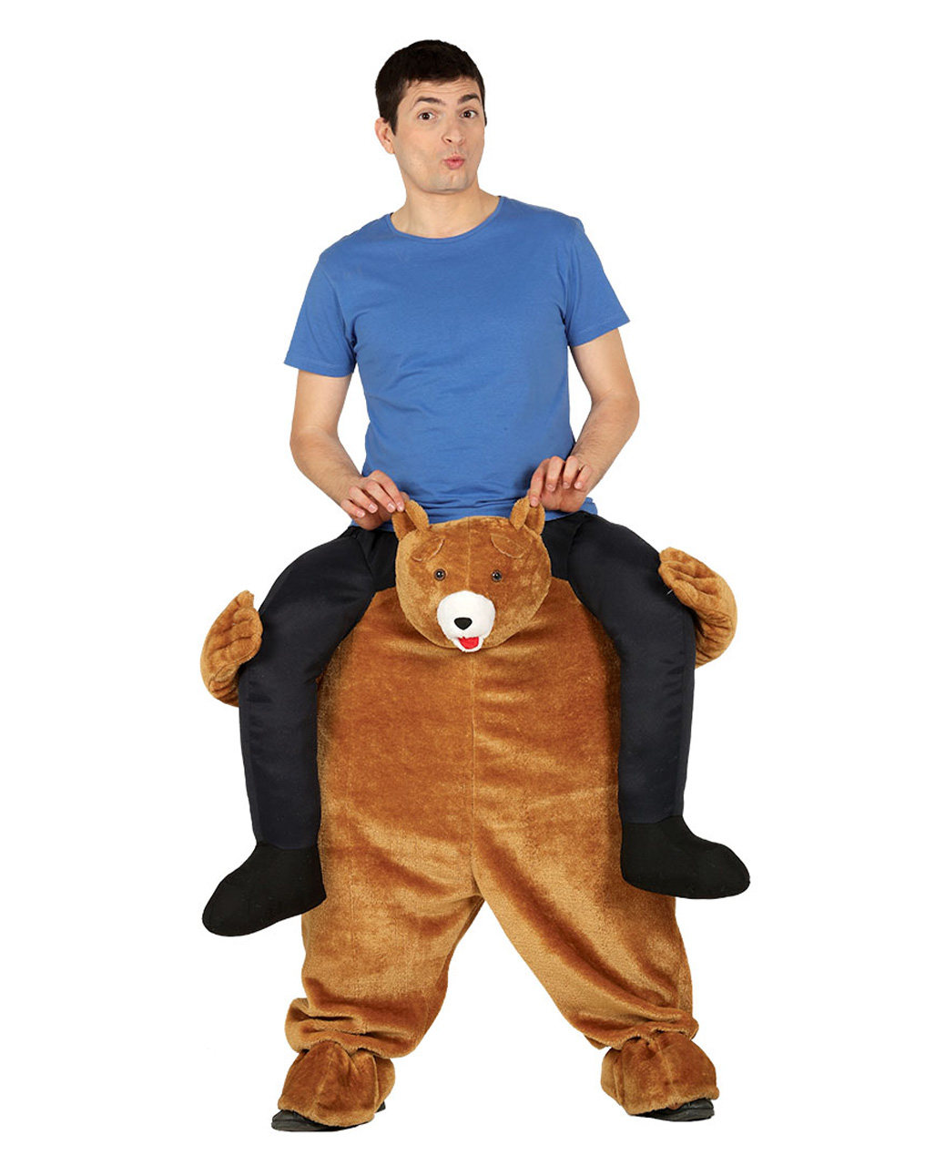 Hard core bear costume for adults