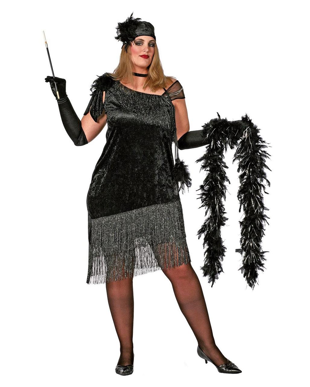 957a51ac Charleston Diva Costume Plus Size for oversizes | horror-shop.com