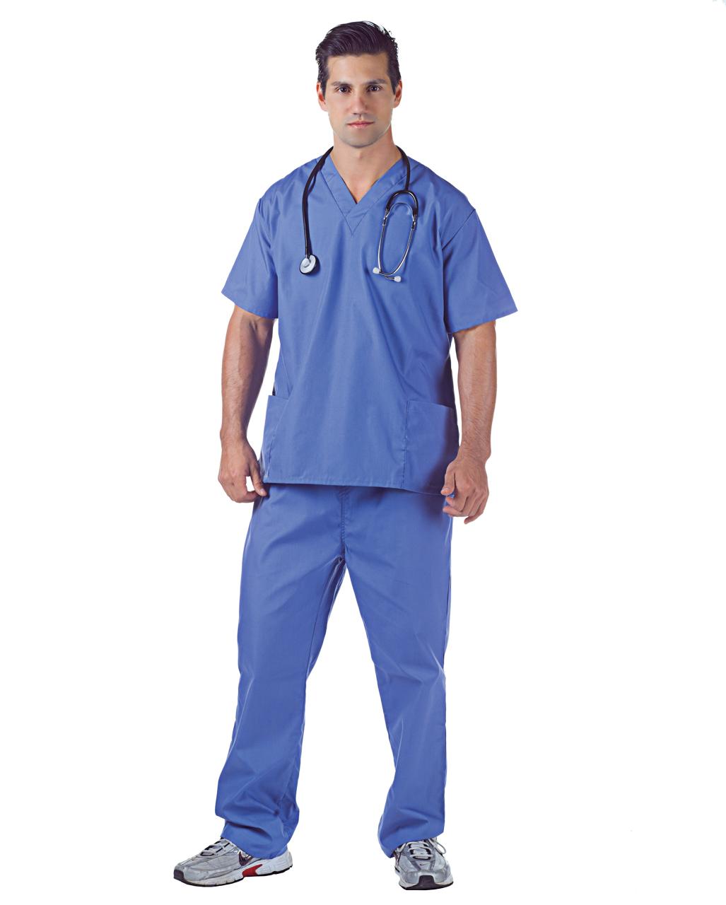 aff15592828 Hospital Scrubs Surgeon costume | horror-shop.com