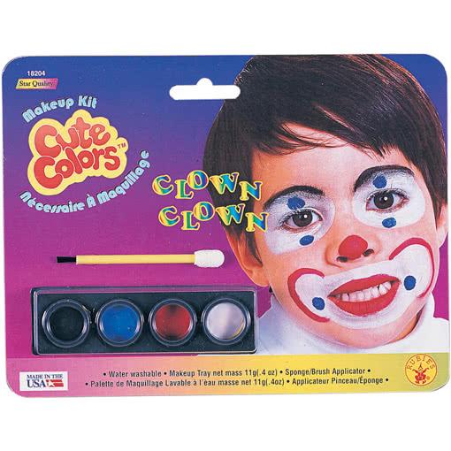 Clown Schminke Fur Kinder Schminkset Clown Fur Kindergesichter