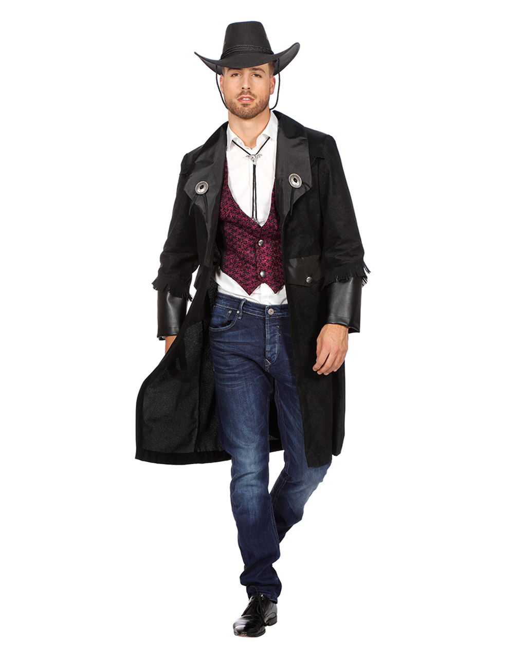 Cowboy Jacke Fur Herren Fur Faschings Kostume Horror Shop Com
