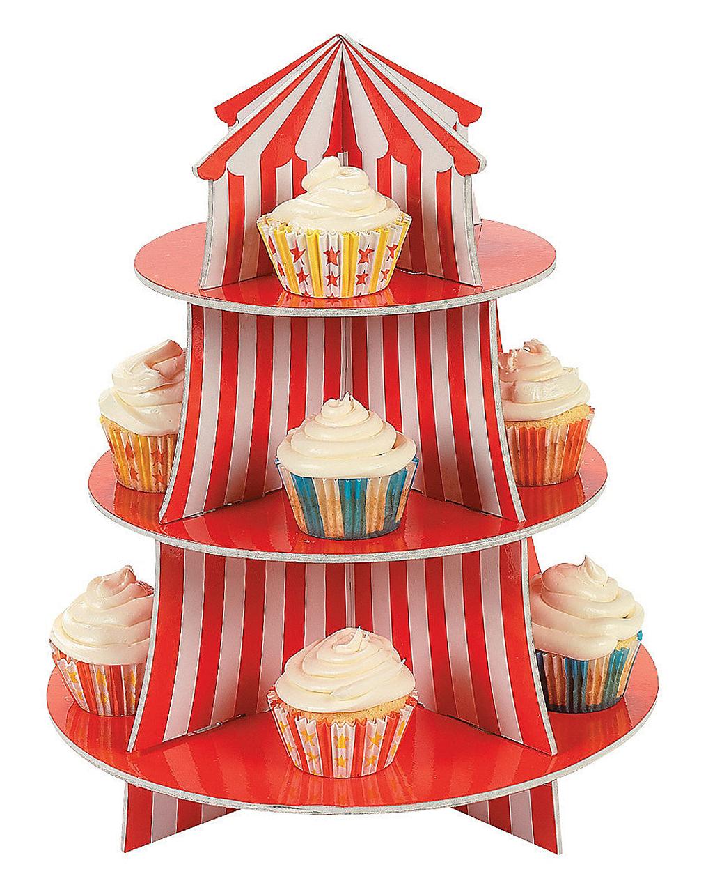 Cupcake Etagere Karnevals Deko Horror Shop Com