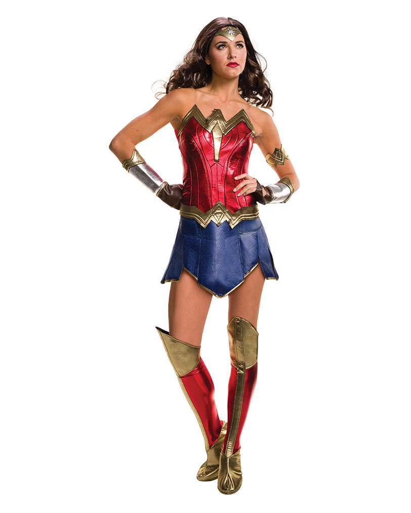 Deluxe Wonder Woman Kostum Fur Halloween Horror Shop Com