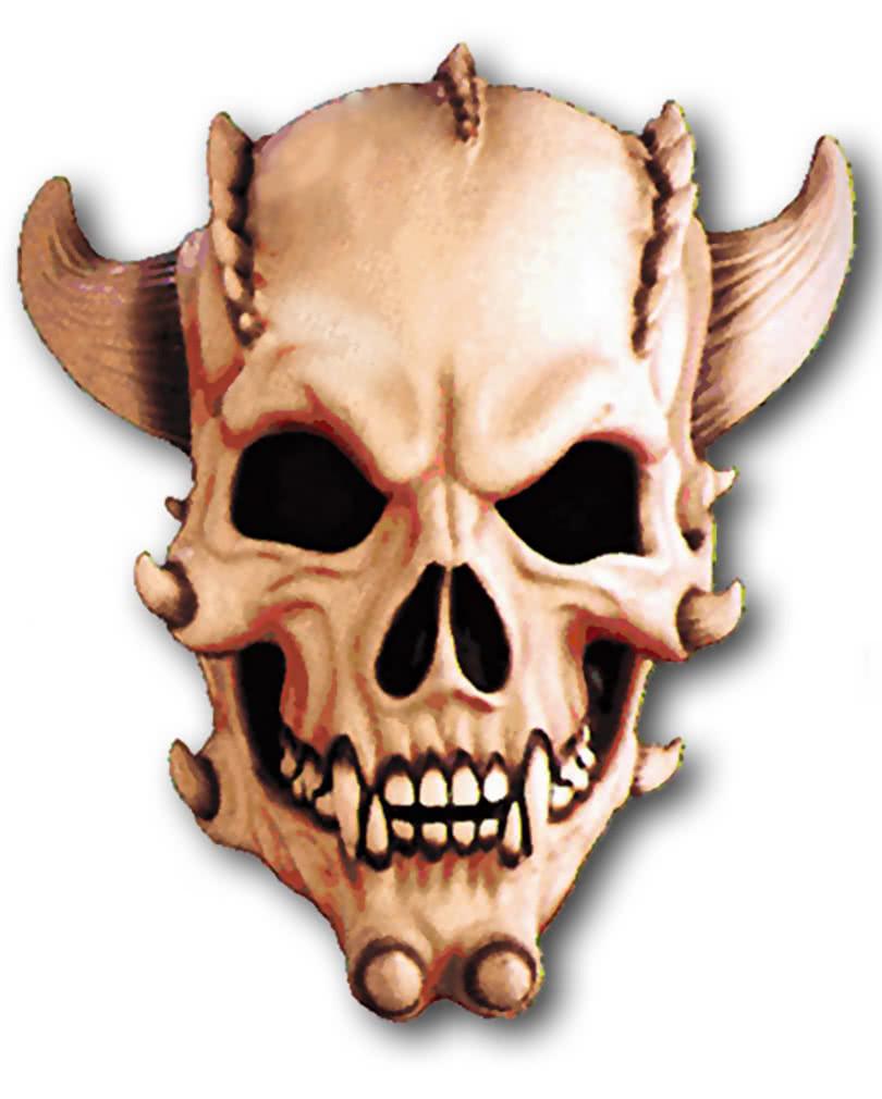 demon skull mask horror masks with skulls