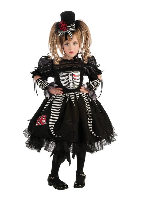 Skelleta Kinder Kostum Gothic Prinzessin Fur Kinder Horror Shop Com