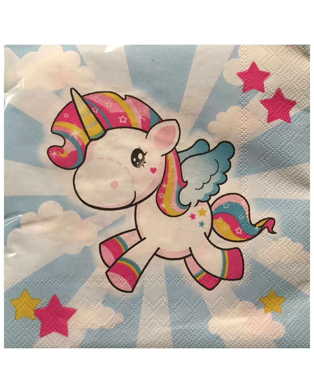 Unicorn Napkins As Table Decoration Horror Shop Com