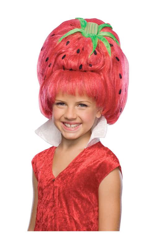 Strawberry Kinderperucke Funny Fruits Wig For Children Horror