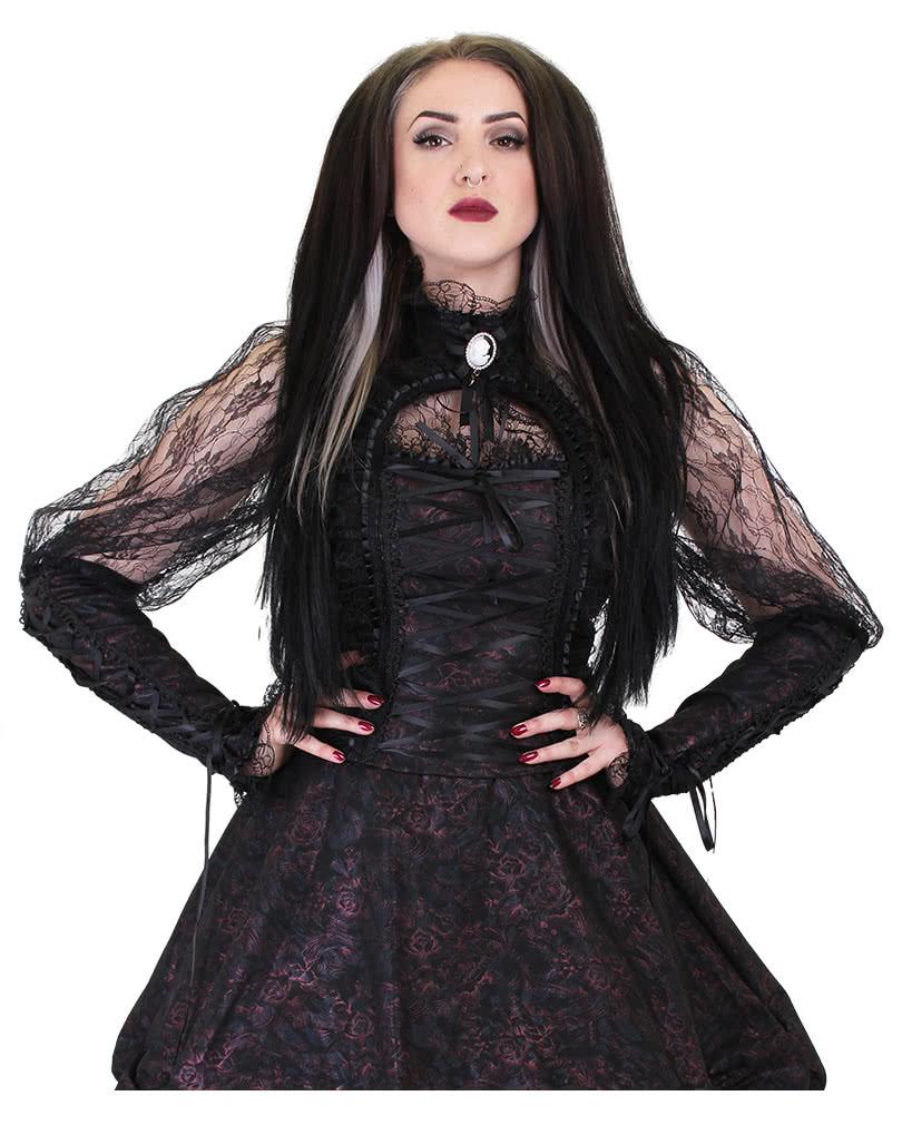 15f1b84d0d562 Gothic Lace Blouse Esme