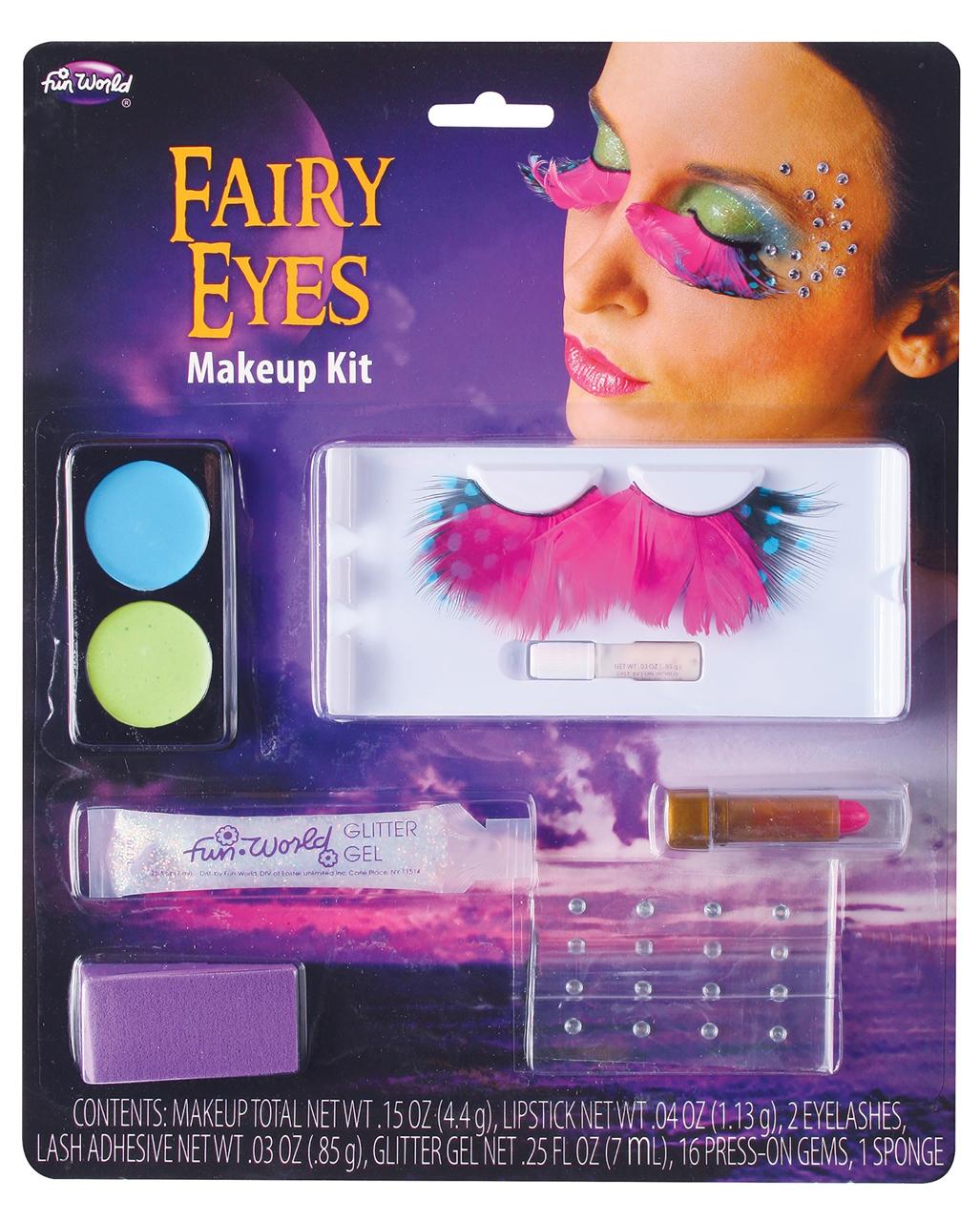 Fairy Augen Make Up Kit Fur Karneval Kaufen Horror Shop Com