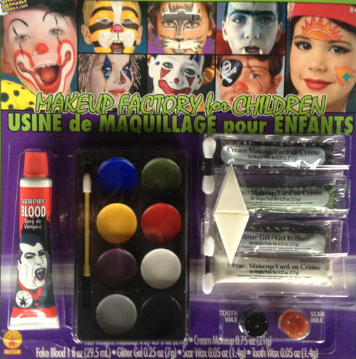 Kids Halloween Makeup Kit  Complete Make Up Kit for the Entire ...