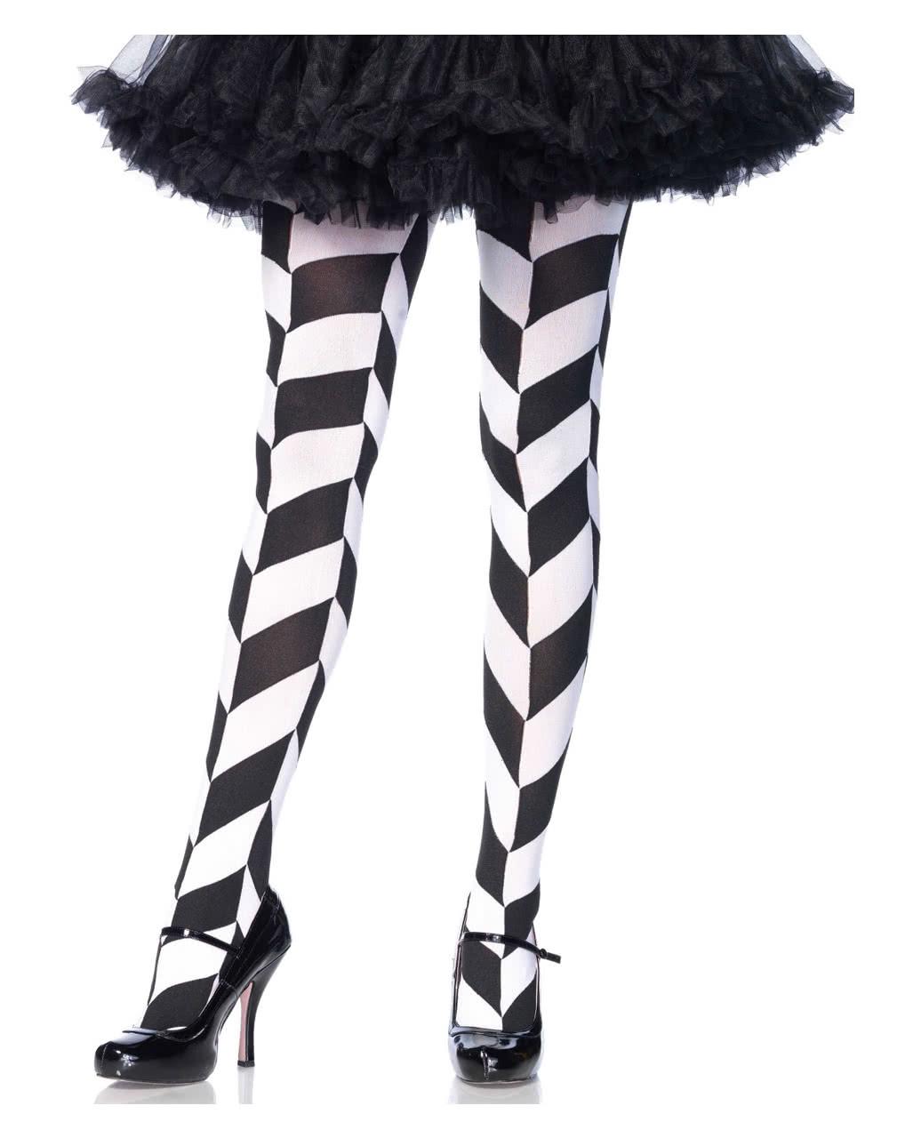 cd2cc77bba22d Pantyhose rhombus optics ◇ ◇ Harlequin nylons | horror-shop.com