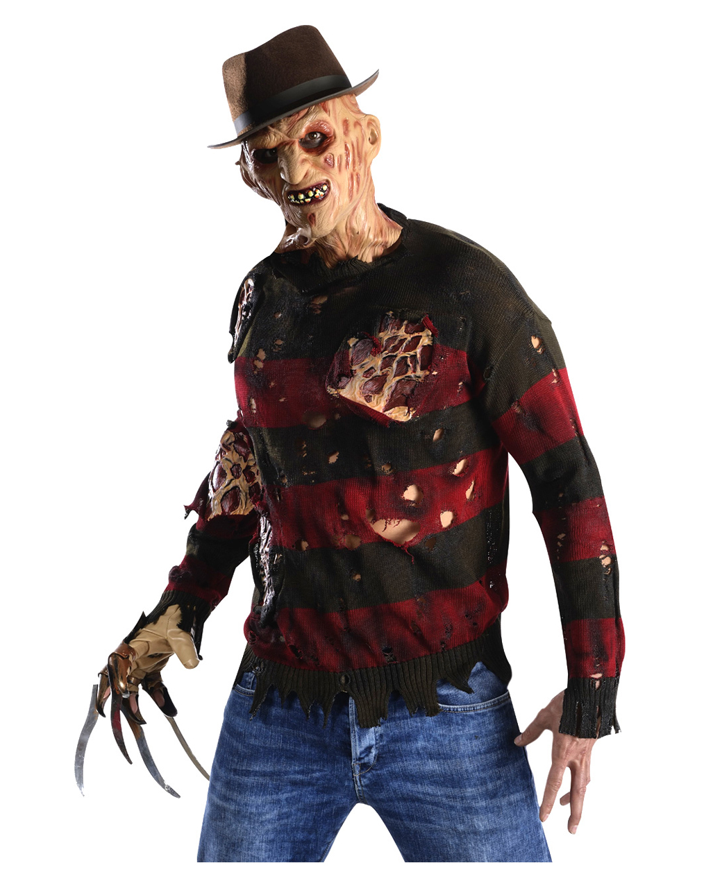 freddy krueger sweater with burn scars buy halloween costume