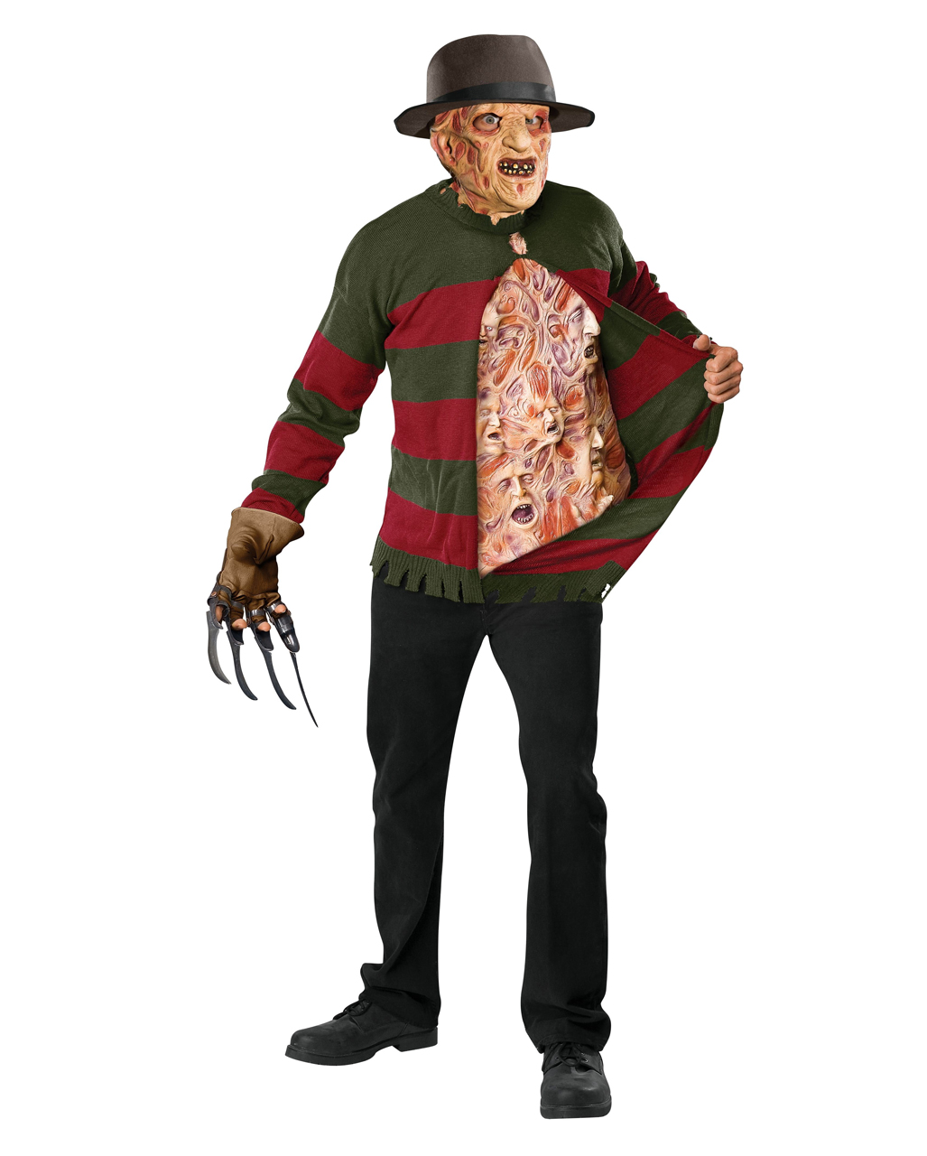 Freddy Krueger Knitting Sweaters With Screaming Souls Horror Shopcom