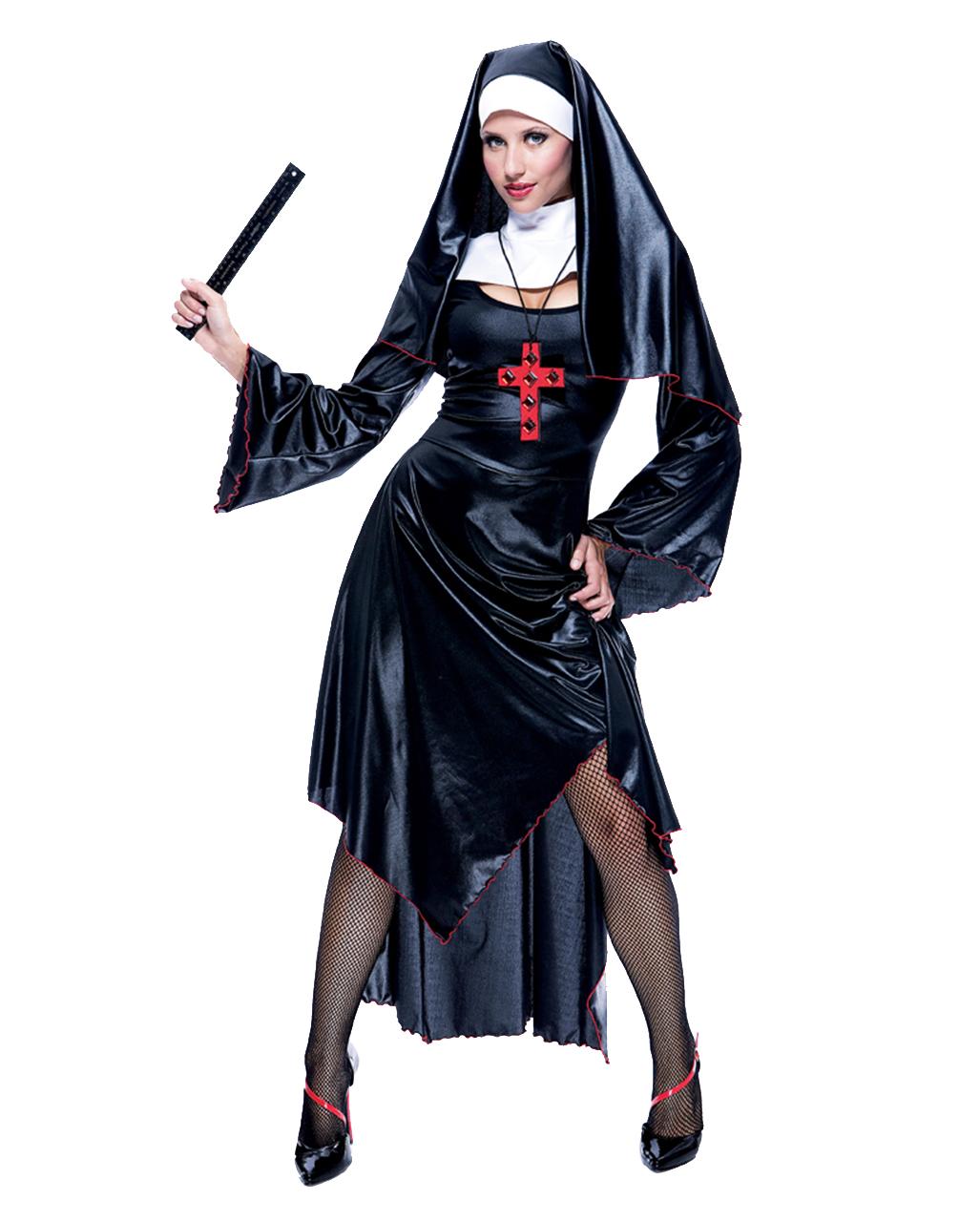 Frivolous Nun Costume  sc 1 st  Horror-Shop.com & Frivolous Nun Costume Sister Costume | horror-shop.com