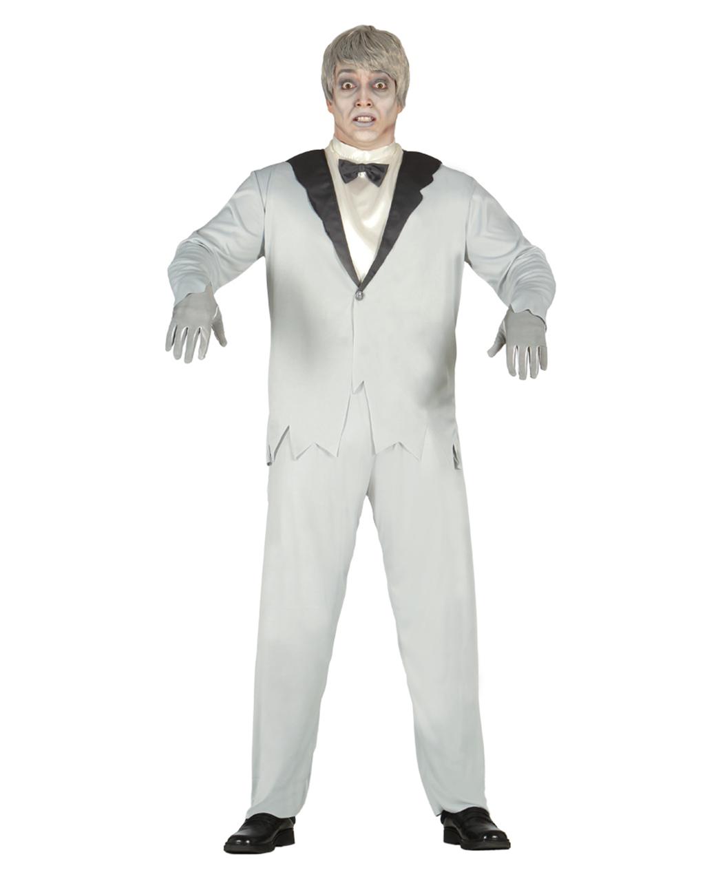 Elegantes Geister Brautigam Kostum Fur Ein Gruseliges Halloween