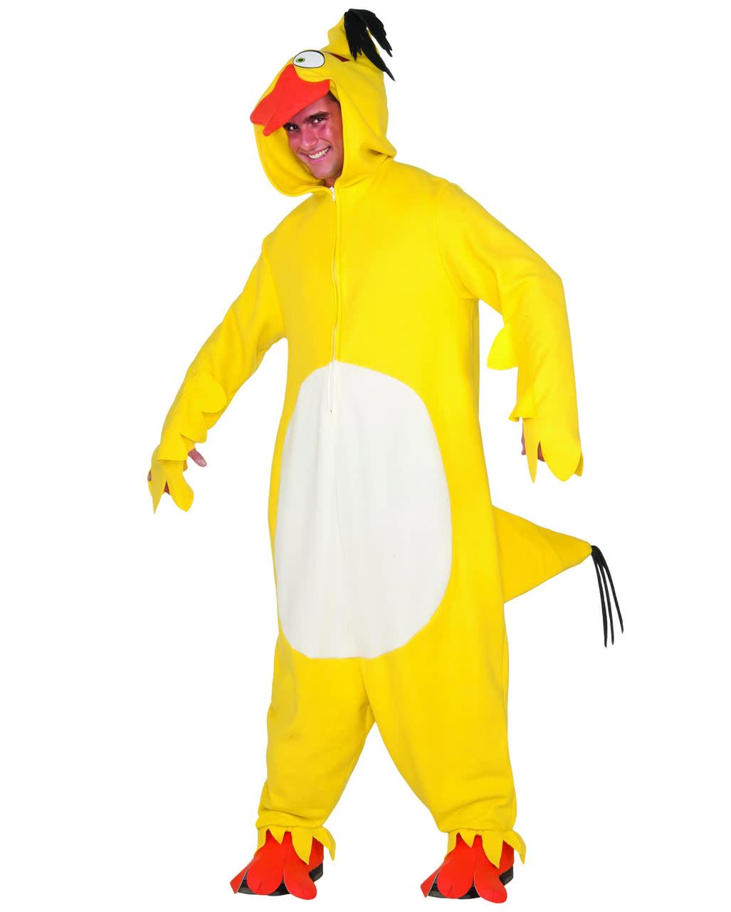 Yellow Angry Birds Chuck Onsie Overall to buy  22e1c6e1da80