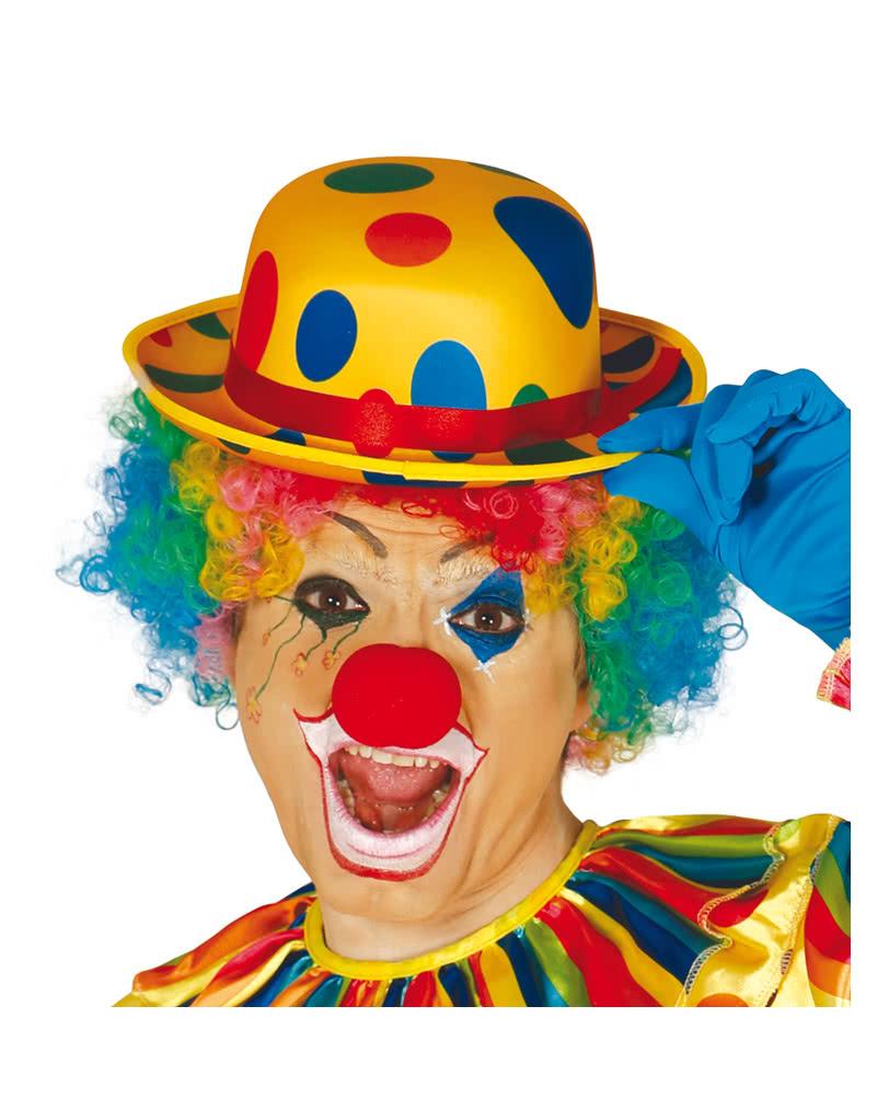 Dotted Clowns Hat Circus Clown Carnival Hat Horror Shop Com