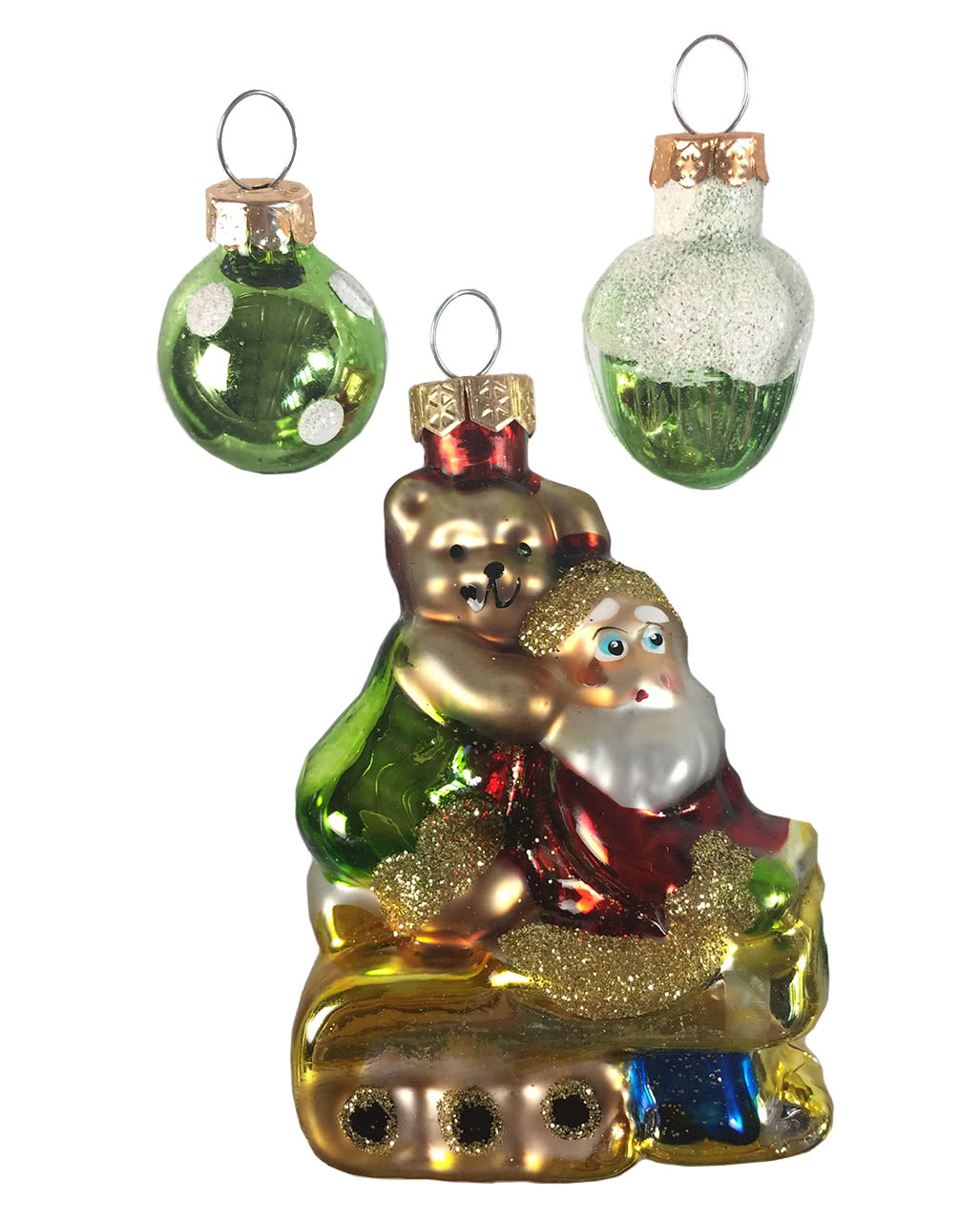 Christbaum Schmuck 3-tlg. für Weihnachtsbäume | Horror-Shop.com