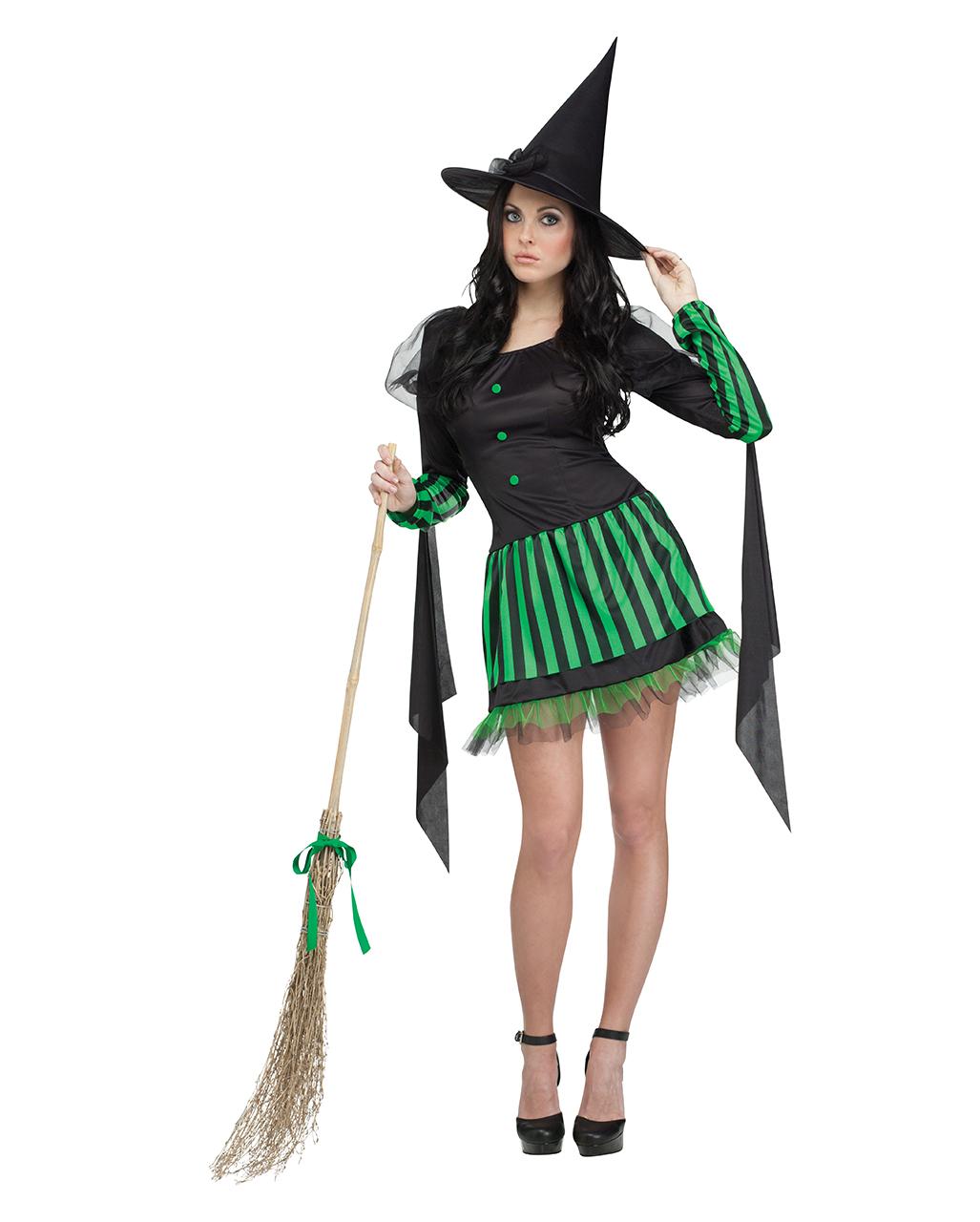 34faba181637 Grüne Hexe Damenkostüm - Hexen Kostüme online bestellen   Horror ...