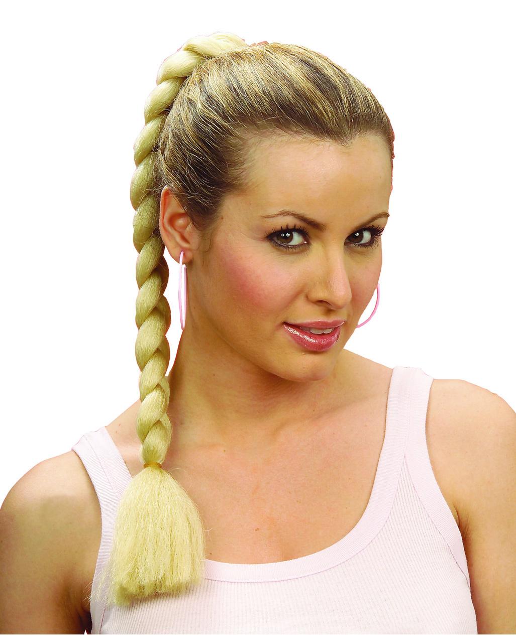 Haarteil Blonder Zopf Günstig Zöpfe Perücken Kaufen Horror Shopcom