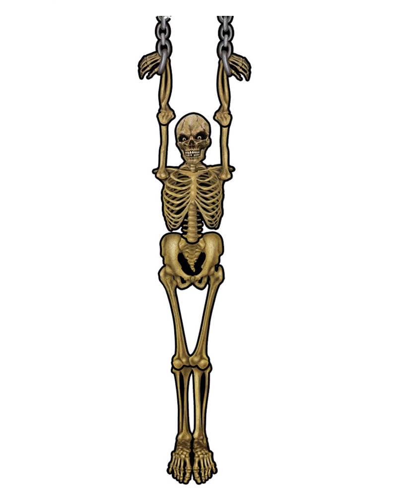 Hängende Wanddeko hängende skelett wanddeko | faltbare karton deko für halloween