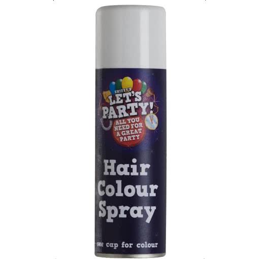 Haarspray weiß 125ml | Farbiges Haarspray für Halloween | Horror ...