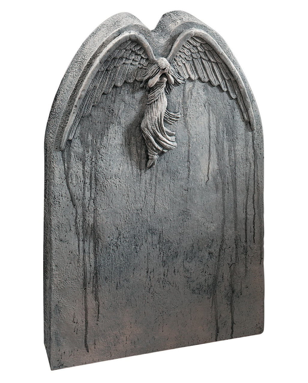 falling angel gravestone halloween tombstone | horror-shop