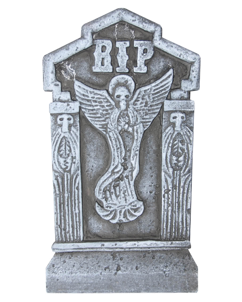 Halloween tombstone RIP with angel to buy | horror-shop.com