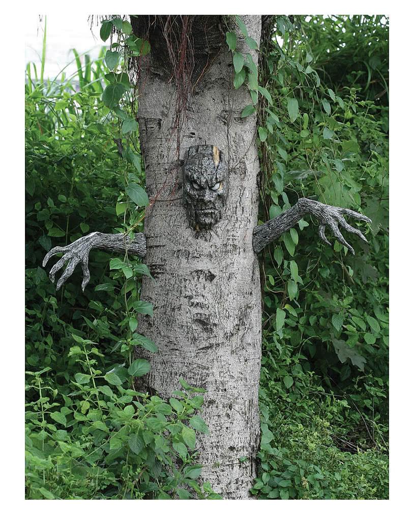 Halloween Baum Geist 3 Tlg Grusel Dekoration Fur Baume Horror