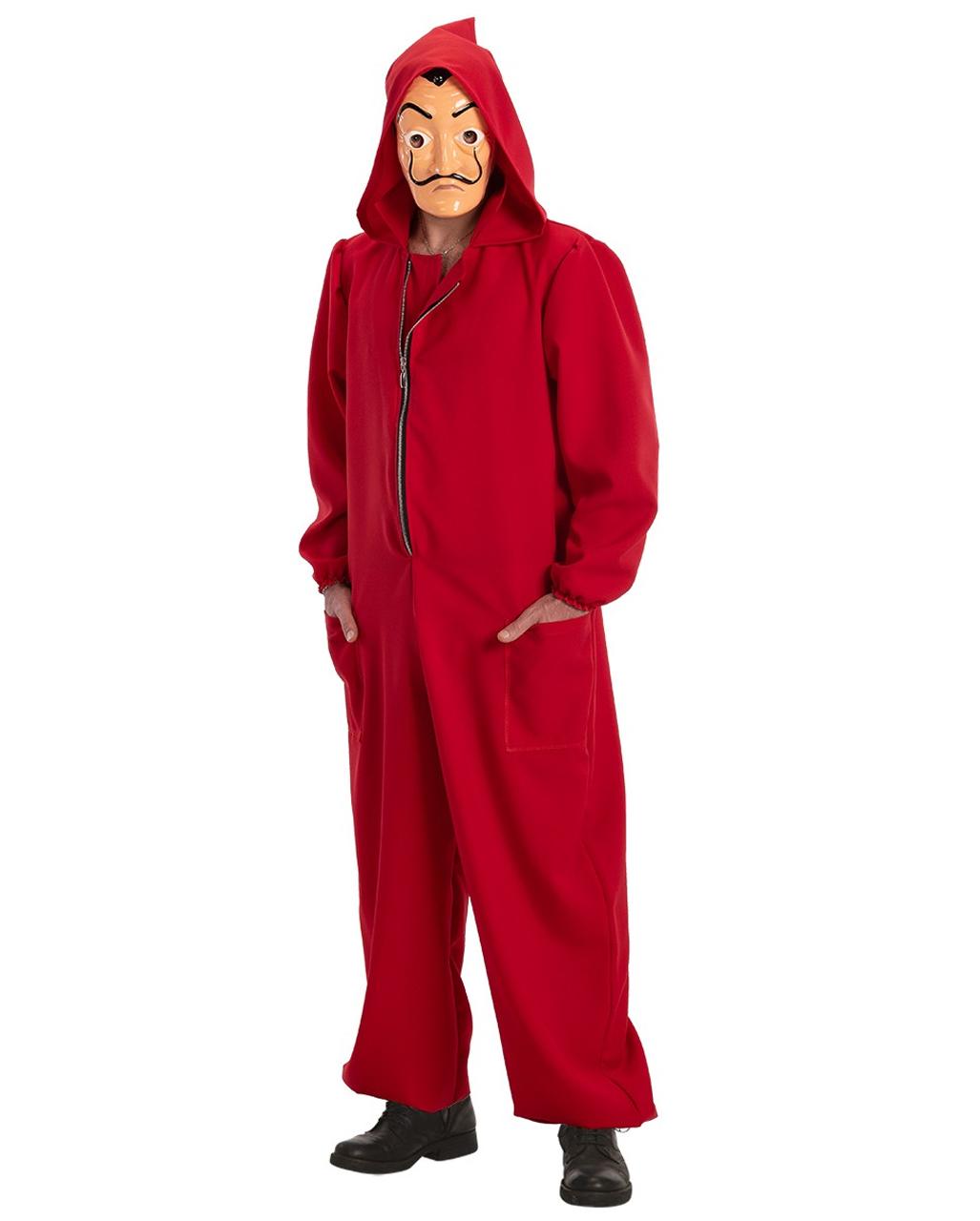 Haus Des Geldes Kostum Overall Fur Fasching Horror Shop Com