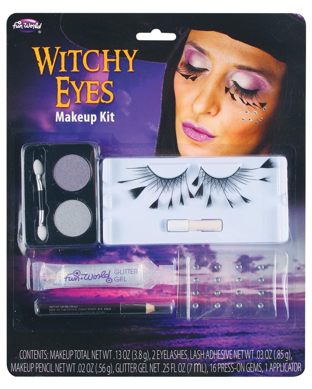 Hexen Augen Make Up Kit Fur Halloween Kaufen Horror Shop Com