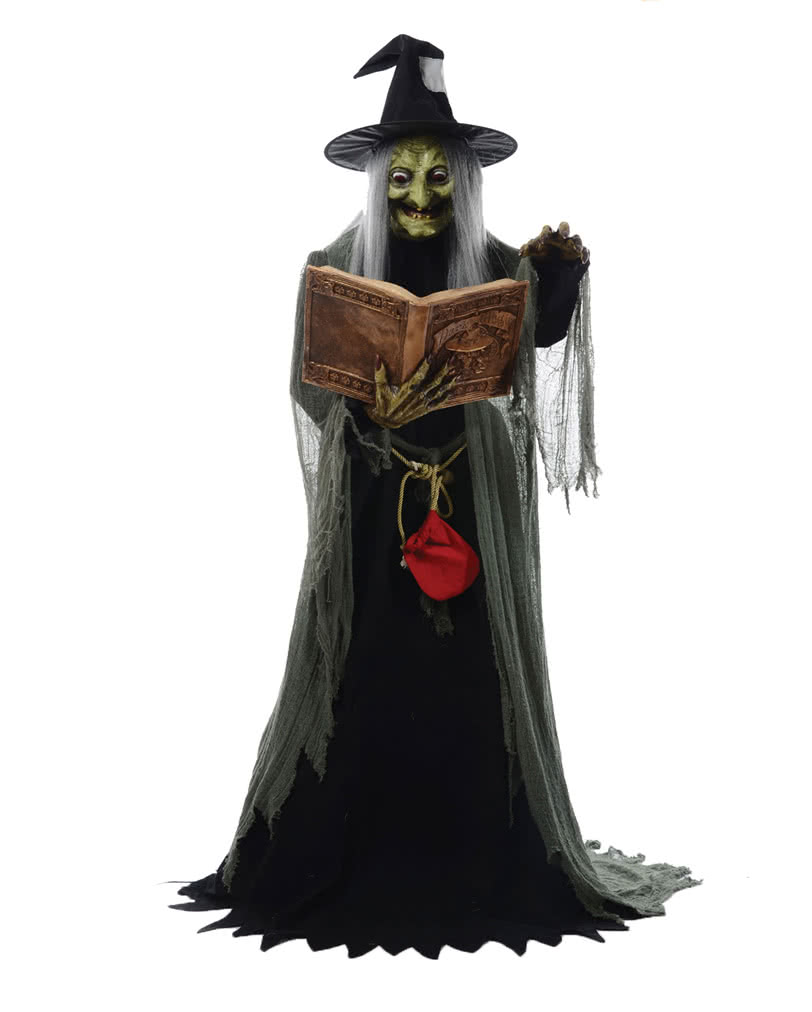 witch figure with spell movement