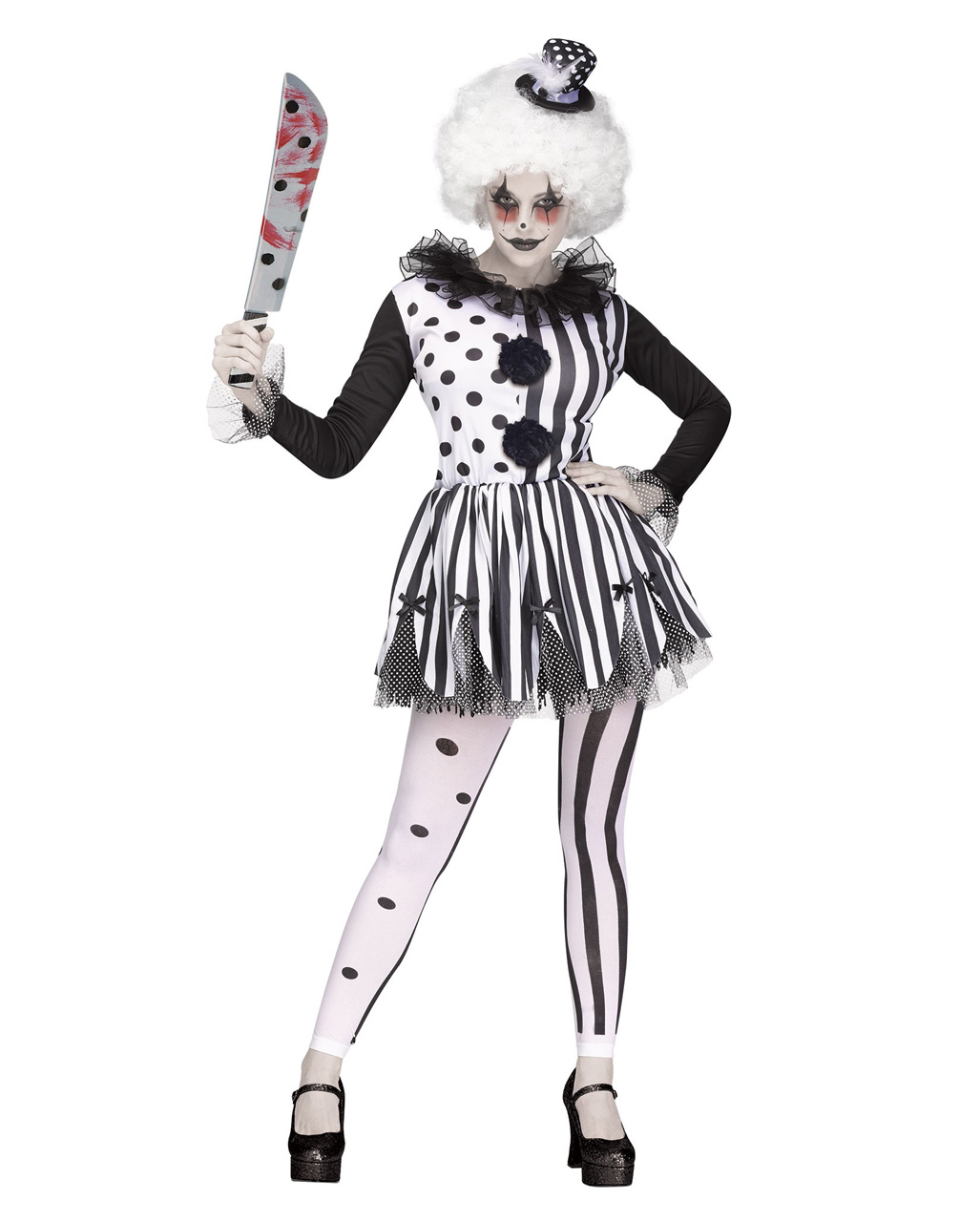 horror clown costume for halloween | horror-shop