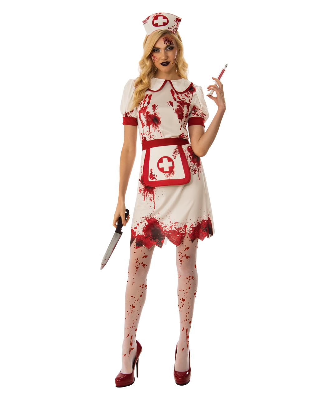 dac05d223af64 Nurse of death costume for Halloween | horror-shop.com
