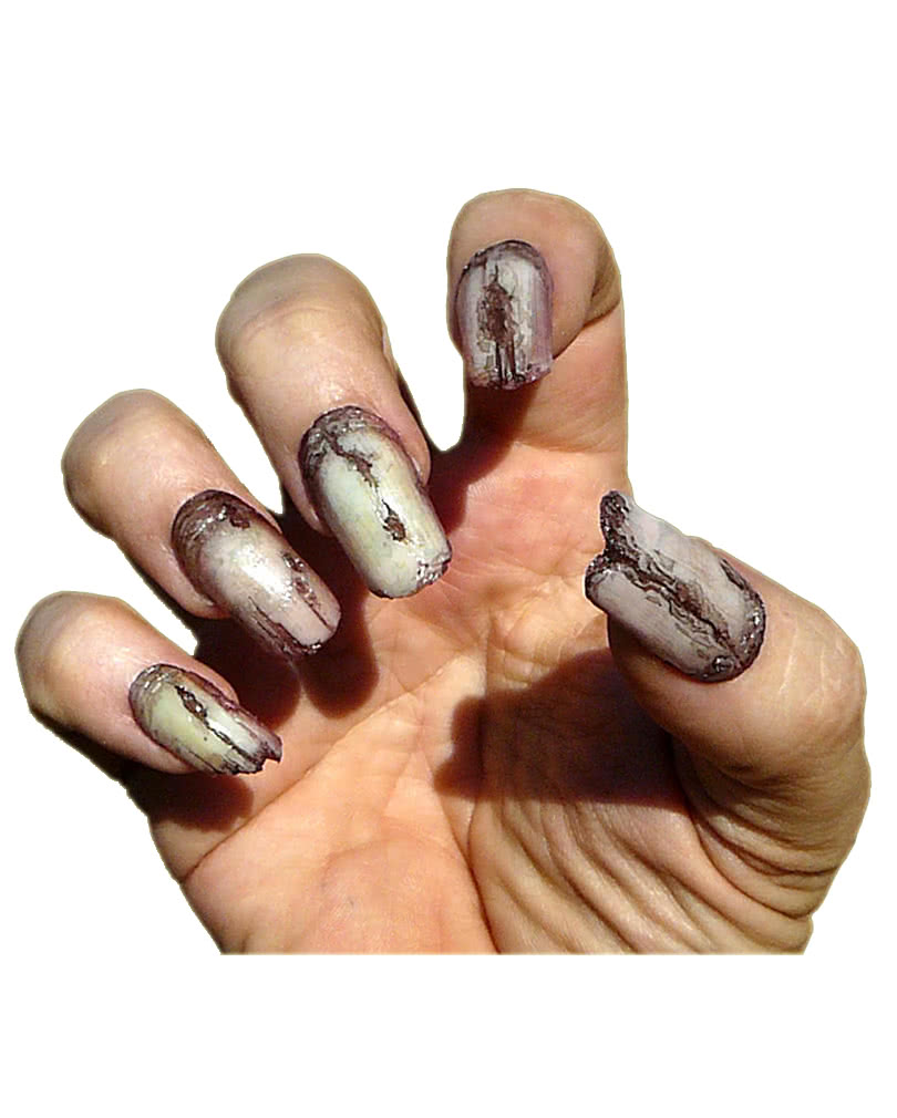 Horror Fingernägel Zombie für Halloween Kostüme | Horror-Shop.com