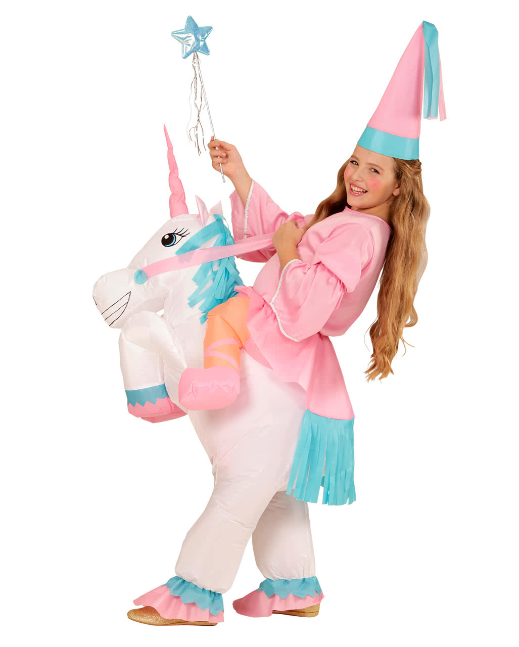 8edd7fc0f12a Unicorn Costume For Girls Inflatable As a fairytale costume